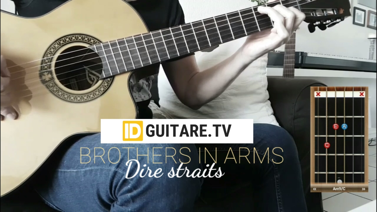 Brothers In Arms Dire Straits Acoustic Guitar Cover Chords