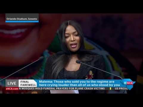 Winnie Madikizela-Mandela an African hero: Naomi Campbell