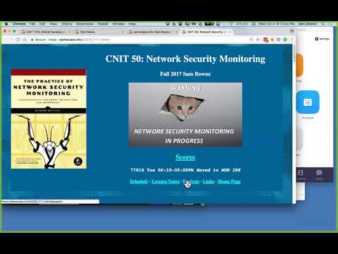 CNIT 123 Ch 5: Port Scanning (Part 1 of 3)