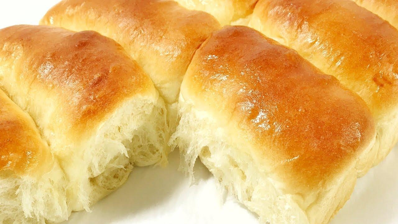 ขนมปังโรล แจกสูตรขนมปังดินเนอร์โรล สูตรนมสด ไร้สารเสริม สอนทำขนมปัง ละเอียดทุกขั้นตอน