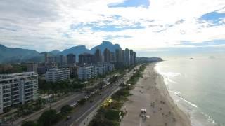 Filmagem aérea Praia da Barra da Tijuca