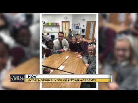 Kevin's Classroom: Good morning, Novi Christian Academy!