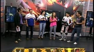"""Oscar Pertusa con Gabriela Carrillo en """"Adrenalina Xtreme"""""""