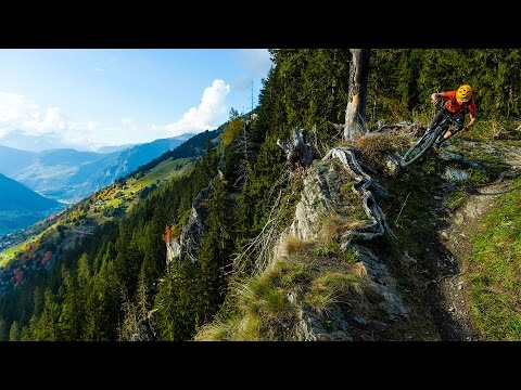 Freeriding Bottomless Trails In The Heart of the Alps – Singletrack Switzerland Verbier