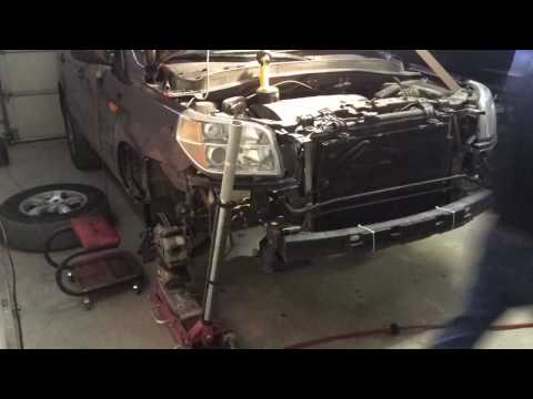 2007 Honda Pilot Damage Repair - Part 2