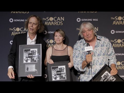 John Picard & David Broadbent - 2016 SOCAN Awards - Backstage
