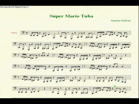 super mario theme for tuba youtube. Black Bedroom Furniture Sets. Home Design Ideas