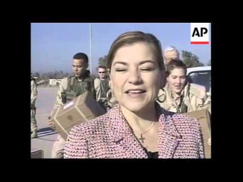 US congressmen visit troops