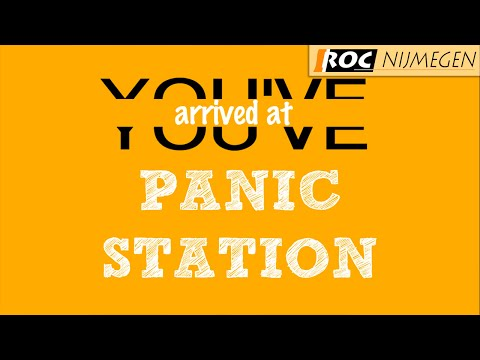 MUSE - Panic Station [Lyric Video]