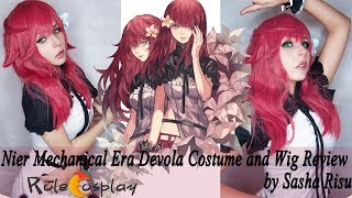 【Rolecosplay】 Nier Mechanical Era Devola Costume and Wig Review by Sasha Risu