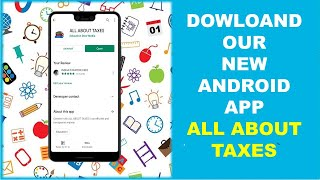 CLICK ALL ABOUT TAXES DOWNLOAD APP ABSOLUTELY FREE | BE A SMART ACCOUNTANT AND SMART PROFESSIONAL |