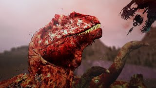 These Zombie Dinosaurs Crave YOUR FLESH!! - The Isle - The First Zombie Dinosaur Horde! - Gameplay