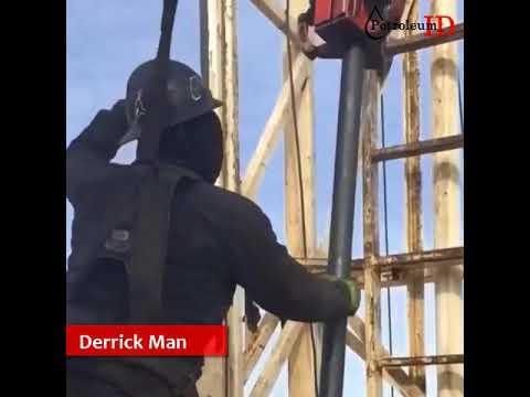 Derrick man - Drilling Oil Field