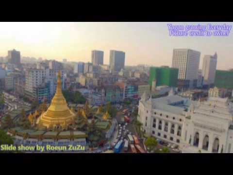 Myanmar Skyline 2017 - Yangon Is Shining