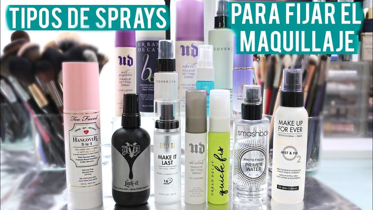 Fijadores de maquillaje setting spray elige el mejor for Tipos de granito para mesada