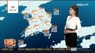 [날씨] 중부지방 늦은 오후까지 비…내일은 맑음