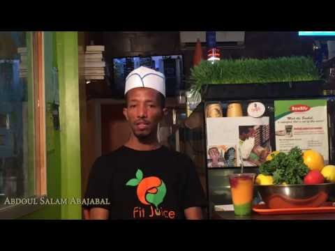 Jimma Oasis Juice Bar - Announcement