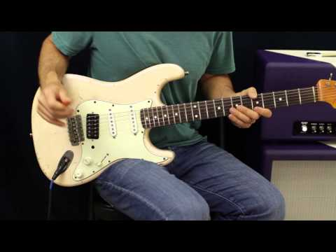 White Wedding By Billy Idol - How To Play - Guitar Lesson - Tutorial