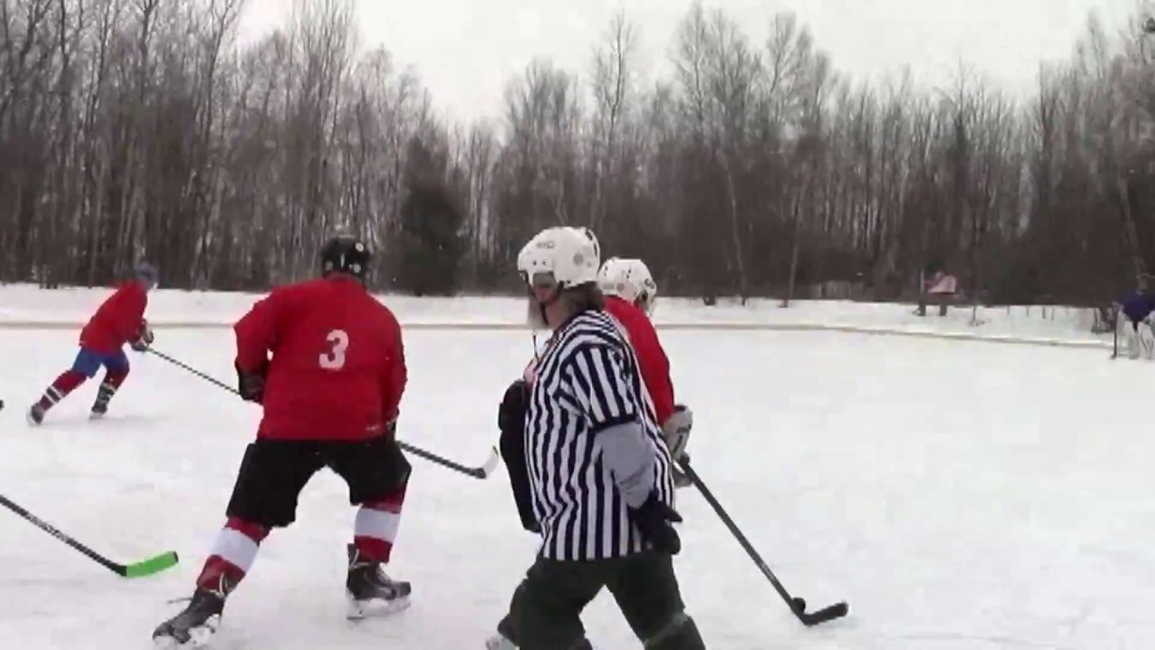 Mahoney Pond Hockey  2-11-17