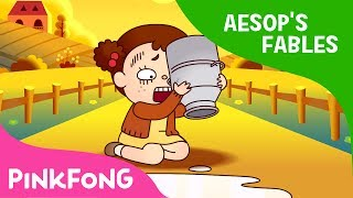The Milkmaid and Her Pail Aesop 39 s Fables Pinkfong Story Time for Children