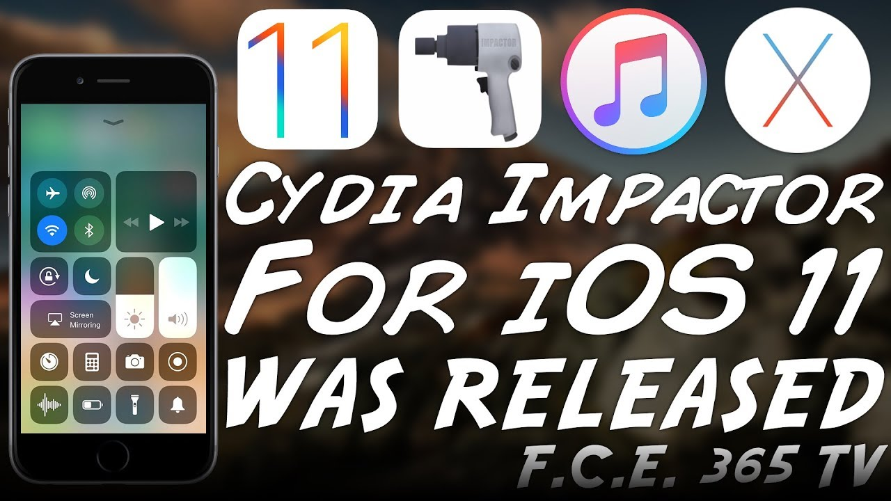 Cydia Impactor Now Available for iOS 11 Beta | Side-load IPAs on iOS 11