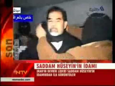 Saddam Hüseyin İdam Görüntüleri