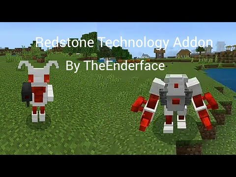 Redstone Technology Addon in MCPE