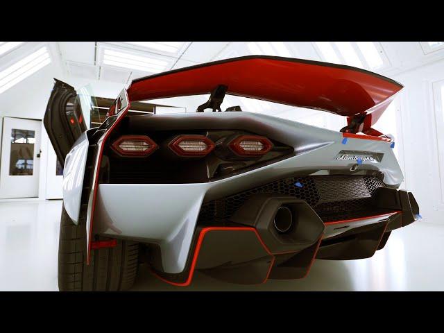 New Hybrid Lamborghini Sian Exclusive Private Reveal