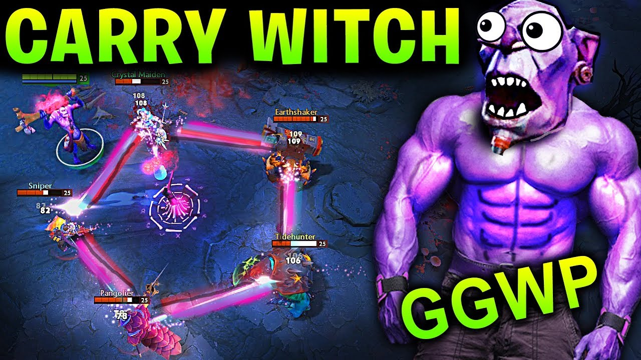 New Witch Doctor Patch 7 13 Dota 2 New Meta Gameplay 77 Carry