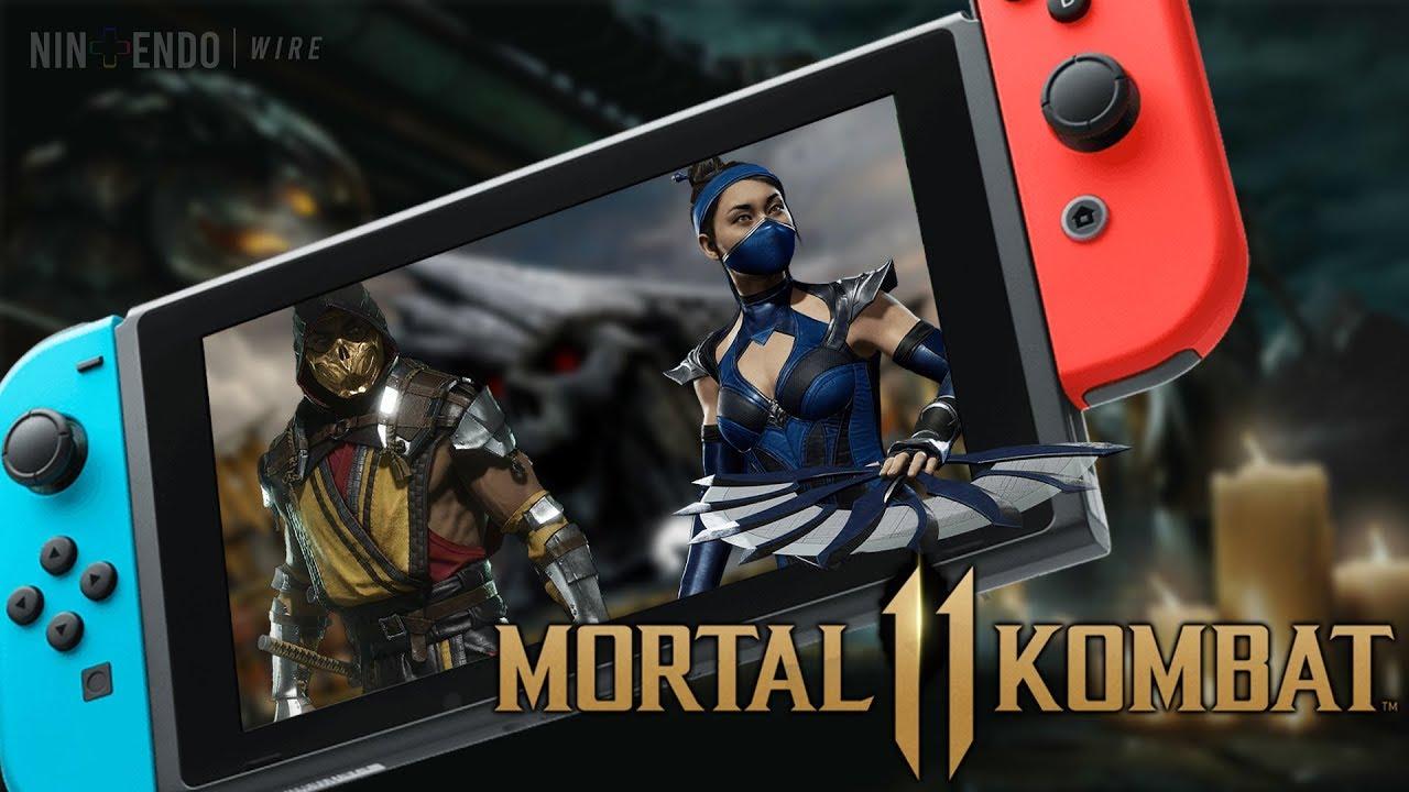 Mortal Kombat 11 on Nintendo Switch   25 Minutes of Story