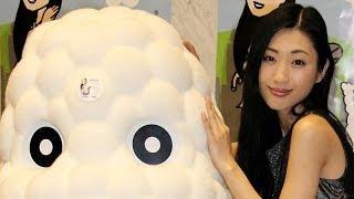 タレントの壇蜜さんが12月24日、東京都内で開かれたアニメ「ごはんかい...