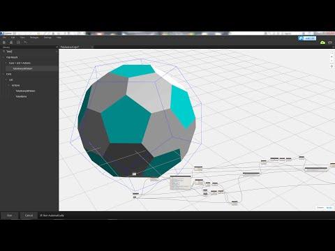 Revit Tips - Regular Polyhedron by Dynamo