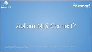 Welcome to zipFormMLS-Connect®