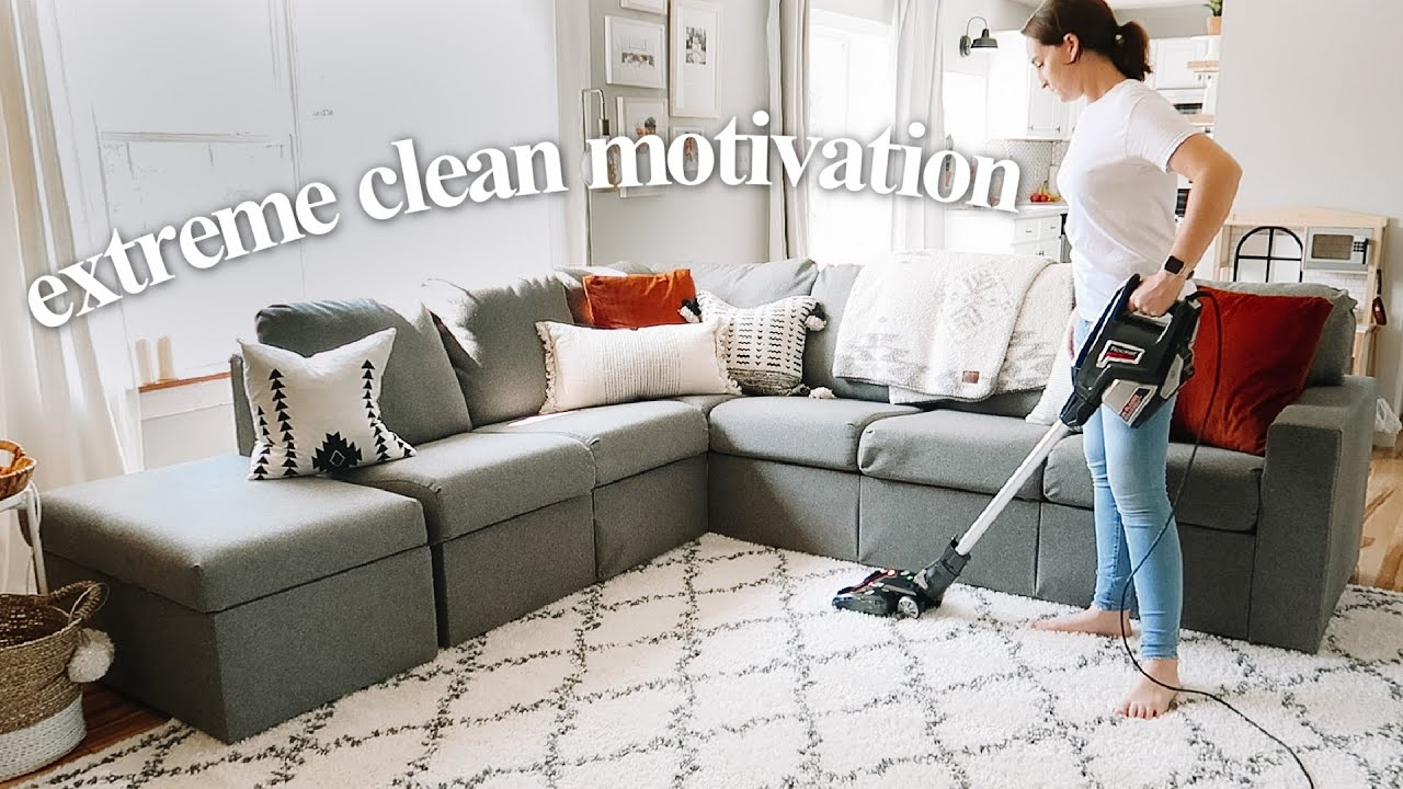 NEW ALL DAY CLEAN WITH ME 2020 | Clean, Declutter and Cook!