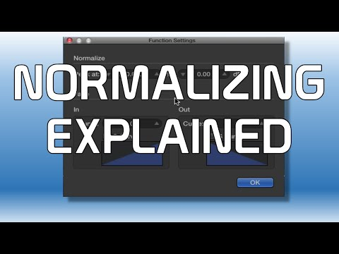 What is Normalizing - Creating Tracks