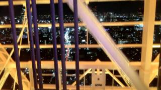 東京タワー特別展望台へ エレベーター.