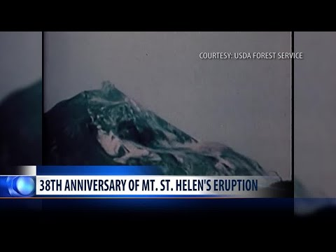 Montanans remember Mount St. Helens 38 years later