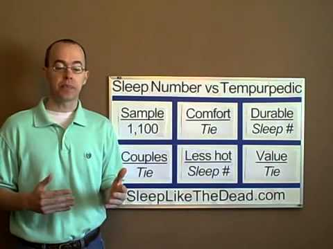 sleep number beds vs tempurpedic mattress shop mattressquote