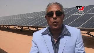 محافظ أسوان يتفقد المدينة الشمسية ببنبان: « لازم نخدم أهالي أسوان بس ساعدوني»ՌK