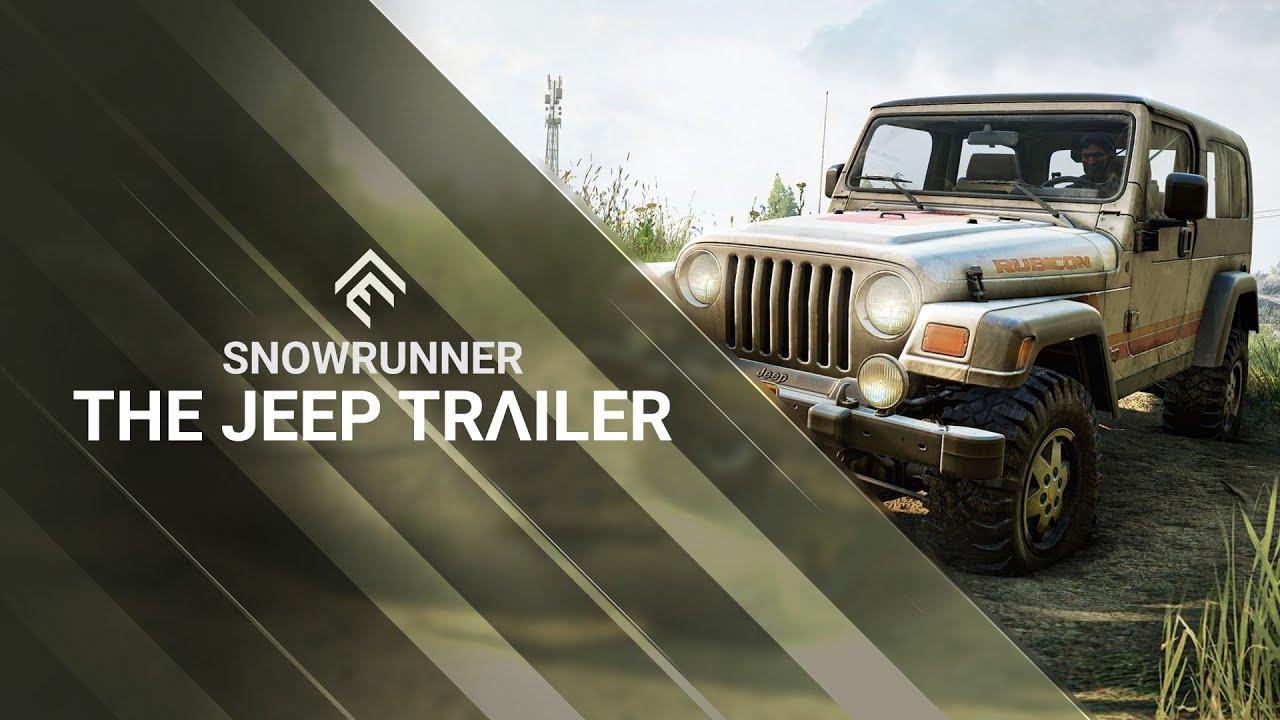 SnowRunner - The Jeep Trailer