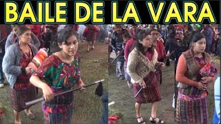 Baile de la Vara en Canton Sacbichol Segunda parte