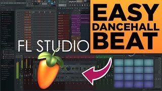 HOW TO MAKE A DANCEHALL BEAT ON FL STUDIO IN 2 MINUTES!