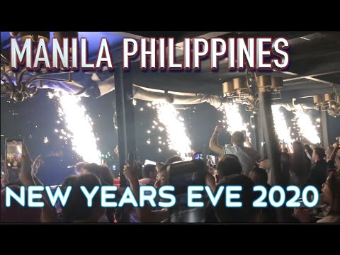 New years eve party Manila Philippines 2020