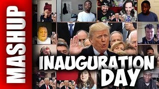 INAUGURATION DAY A Bad Lip Reading of Donald Trumps Inauguration Reactions Mashup