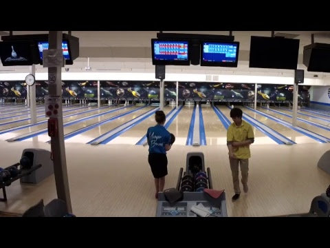 Capital district youth scholarship tour at broadway lanes fortt edwards NY Qualifer game 2