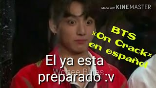 BTS [On Crack] #1 En español - The JungKook look