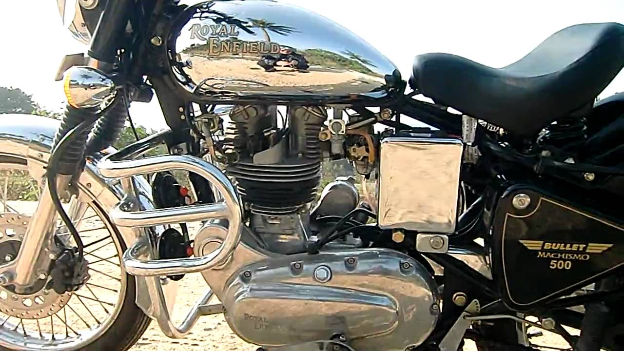 royal enfield bullet machismo 500 soundcheck in hd youtube