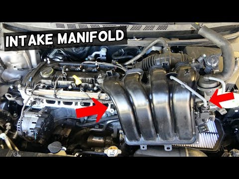 HOW TO REMOVE OR REPLACE INTAKE MANIFOLD KIA FORTE K3 SPORTAGE SOUL 1.8 2.0 NU