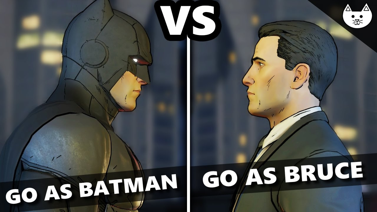 batmans choice with regards to harvey
