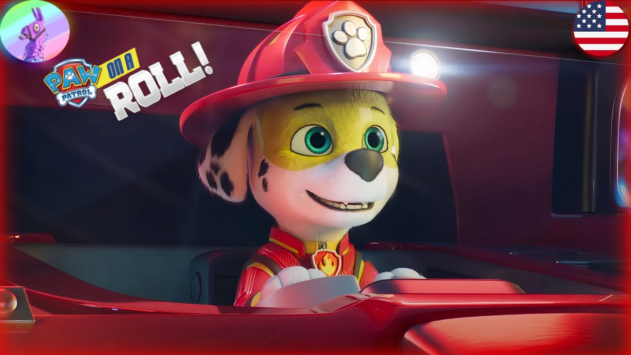 🔥PAW Patrol The Movie: Mighty Pups on A Roll New Marshall Heroic Rescue Mission - HD